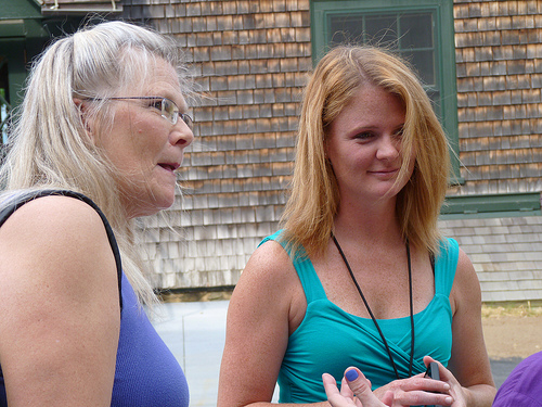 Carol and Erin