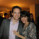 YMP Alumna Hilary Kole and Friend Chad at Feb 23 event in NYC