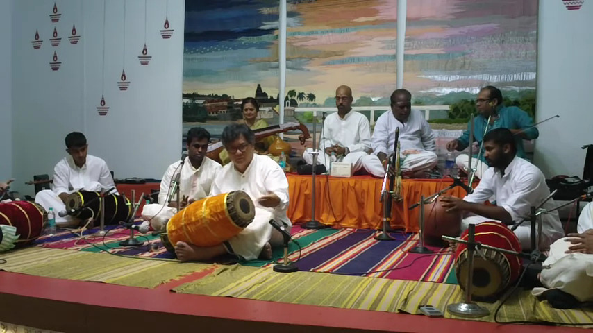 Tony Makarome and colleagues in Chennai, India