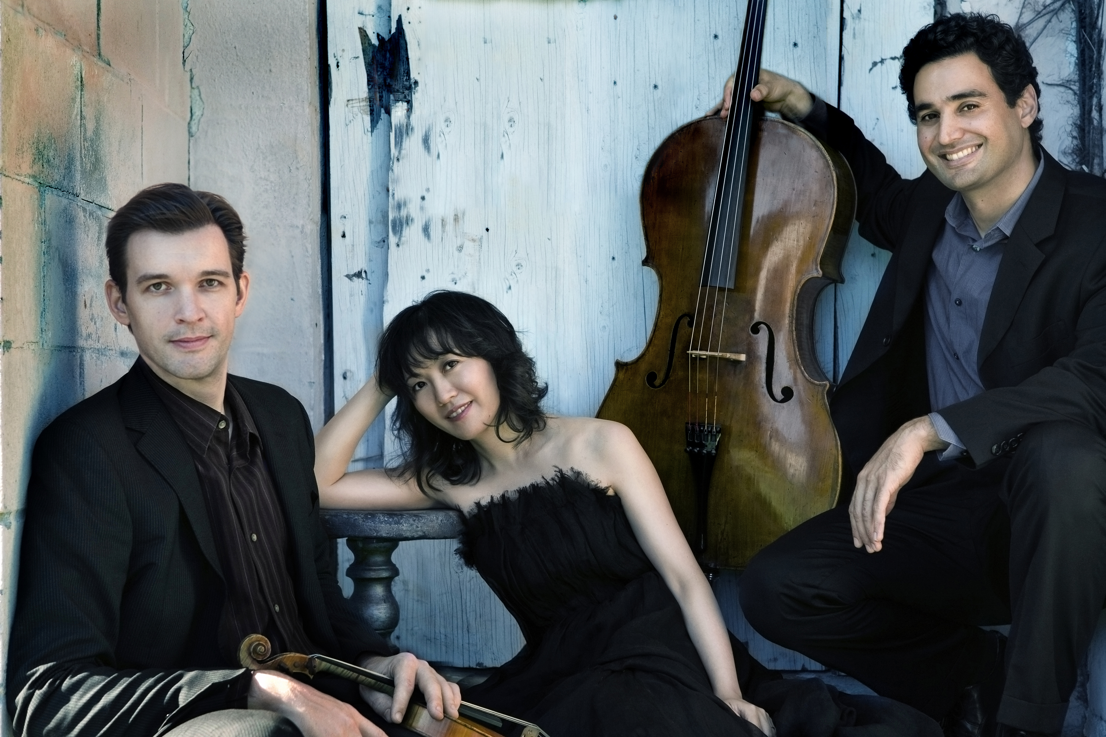 Open House and Horszowski Trio with music for violin, cello