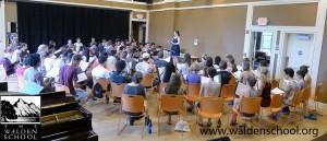 Walden School - Young Musicians Program chorus